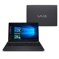 "Foto Notebook Vaio VJF155F11X-B7211B Intel Core i3 7100U 15,6"" 4GB Optane 16 GB HD 1 TB Windows 10"