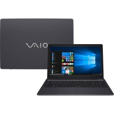 "Foto Notebook Vaio VJF155F11X-B1211B Intel Core i5 7200U 15,6"" 4GB SSD 128 GB Windows 10 7ª Geração"