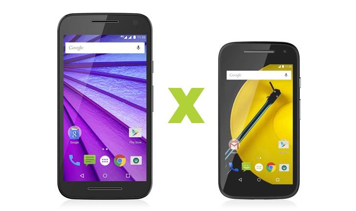 Novo Moto G ou Novo Moto E? Escolha o seu smartphone da Motorola!
