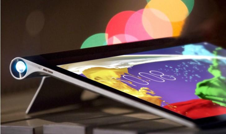 Novo tablet da Lenovo com projetor integrado chegou ao Brasil