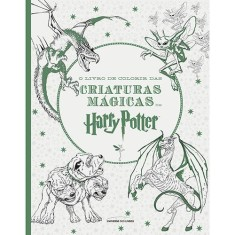 O Livro de Colorir Das Criaturas Mágicas de Harry Potter - Editions, Insight - 9788579309816