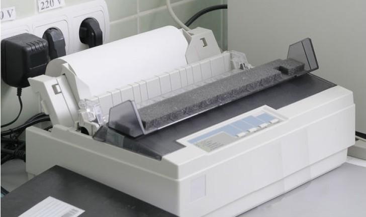 O que é impressora matricial?