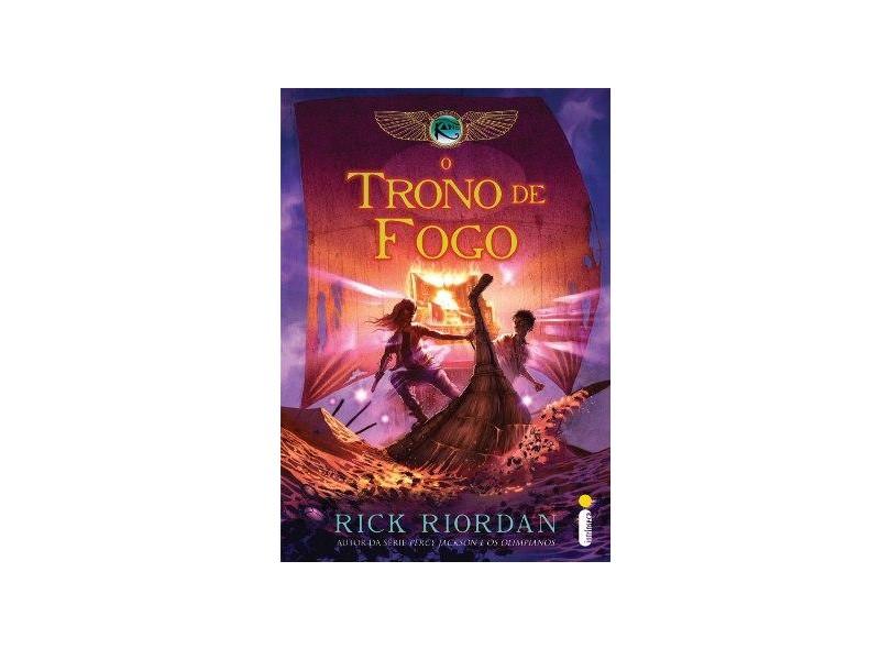 livro o trono de fogo rick riordan