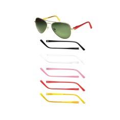 Óculos de Sol Feminino Aviador   Moda e Acessórios   Comparar preço ... b5208498bd