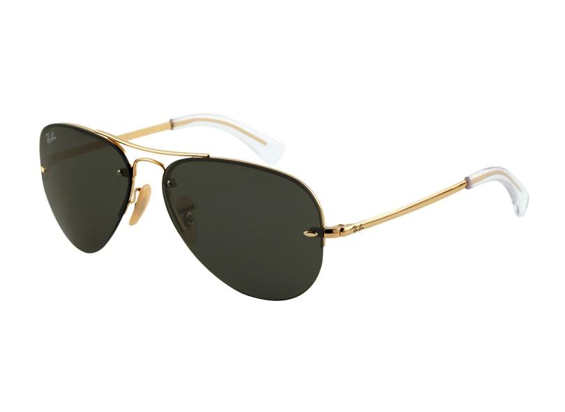 67a221e7c3483 Óculos de Sol Feminino Ray Ban Aviador RB3449