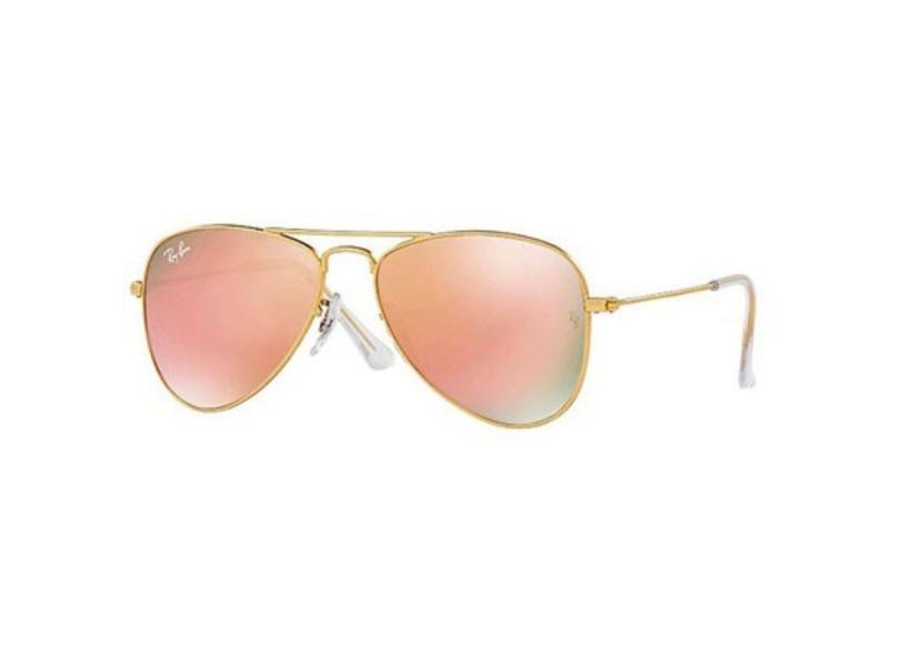 cfaabef5b Óculos de Sol Infantil Ray Ban Aviador RJ9506