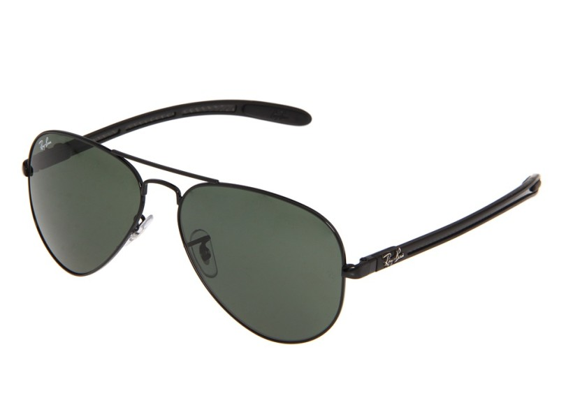 264591511885f Óculos de Sol Masculino Ray Ban Aviador RB8307