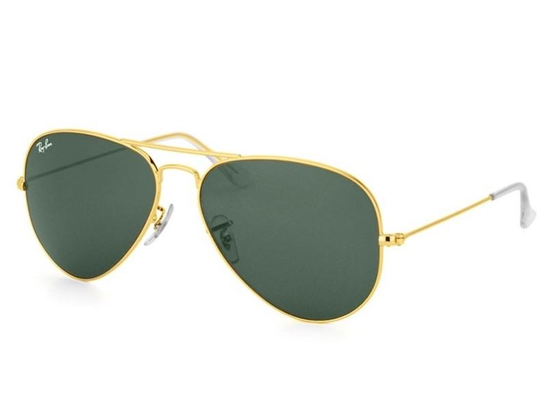 443d8132c Óculos de Sol Unissex Ray Ban Aviador RB3025