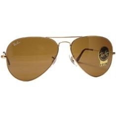 3957a428b64cc Óculos de Sol Unissex Aviador Ray Ban RB3025
