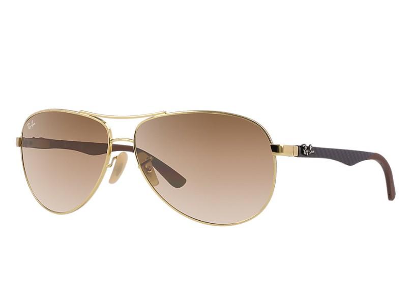 Óculos de Sol Unissex Ray Ban Aviador RB8313 57fe092442