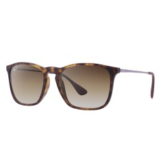 Óculos de Sol Unissex Quadrado Ray Ban Chris RB4187