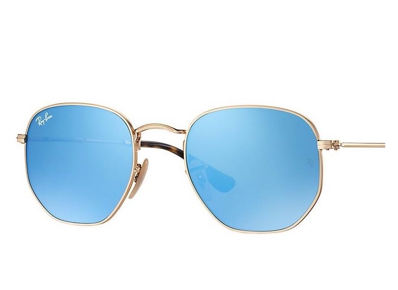 Óculos de Sol Unissex Ray Ban Hexagonal RB3548 91282f98b3