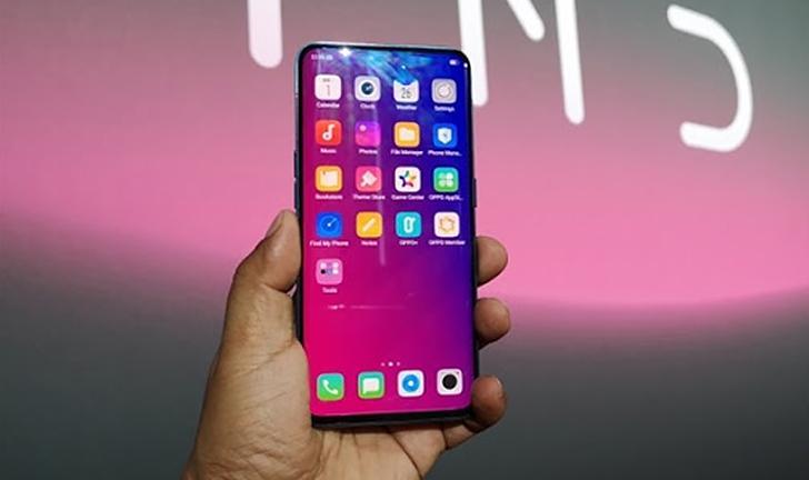 Oppo planeja celular com câmera dentro da tela