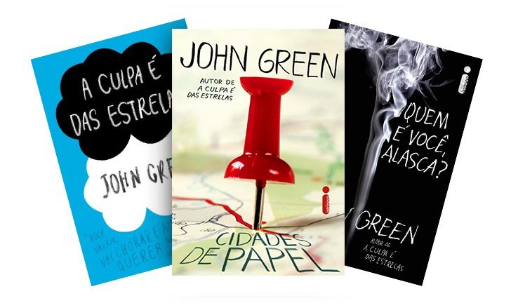 Os 3 melhores livros de John Green
