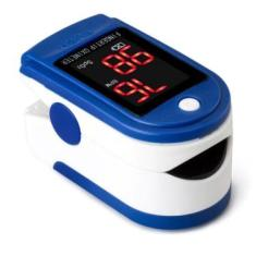 Oxímetro Saúde Medidor De Dedo, Pulso - Pressão E Hemoglobina