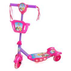 Patinete Princesinhas DM Toys Sonho de Princesa