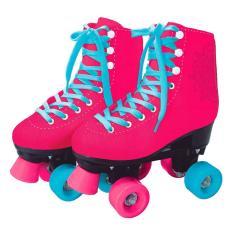 Patins Tradicional 4 rodas Barbie Fun Clássico