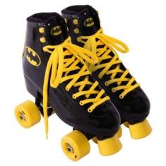 Patins Tradicional 4 rodas Batman Bel Fix Quad Batman