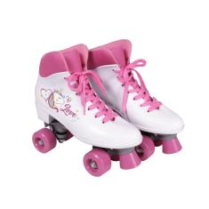 Patins Tradicional 4 rodas Bel Fix Quad Love