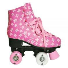 Patins Tradicional 4 rodas DM Toys Roller Star