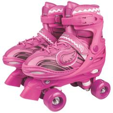 Patins Tradicional 4 rodas Fenix Power Roller Star