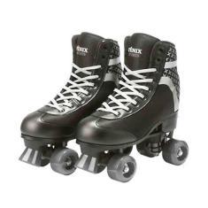Patins Tradicional 4 rodas Fenix Roller Skate Ajustável