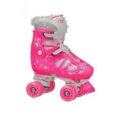 Patins Tradicional 4 rodas Roller Derby Princess