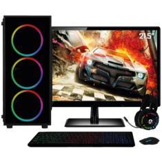 "PC 3Green Gamer Intel Core i7 8 GB HD 1.000 GB SSD 240 GB GeForce GTX 750 21,5"" Linux 47703"