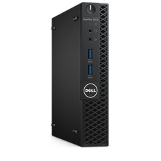 Foto PC Dell OptiPlex 3050 MFF Intel Core i3 7100T 4 GB 500 Windows 10 Pro USB 3.0