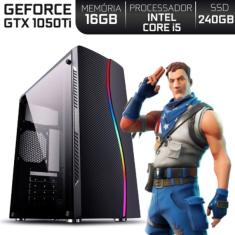PC EasyPC Gamer Intel Core i5 3,40 GHz 16 GB SSD 240 GB GeForce GTX 1050 Ti Linux 37145
