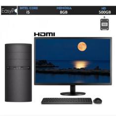"PC EasyPC Intel Core i5 8 GB HD 500 GB SSD 60 GB Intel HD Graphics 19,5"" Linux 35977"