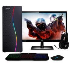 "PC Gamer EasyPC Intel Core i5 8 GB HD 500 GB GeForce GT 210 21,5"" Linux GT 210"