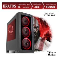 PC Gamer ICC Gamer Intel Core i5 3,20 GHz 4 GB HD 500 GB GeForce GT 710 Linux KT2541S