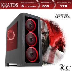 PC ICC Gamer Intel Core i5 8 GB HD 1.000 GB Linux KT2582S