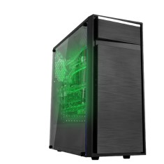 Foto PC Oficina dos Bits Moba Intel Core i3 7100 8 GB 1 TB GeForce GTX 1050 Ti Gamer