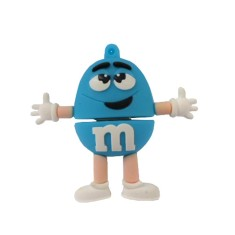 Foto Pen Drive Importado 8 GB USB 2.0 M&M's