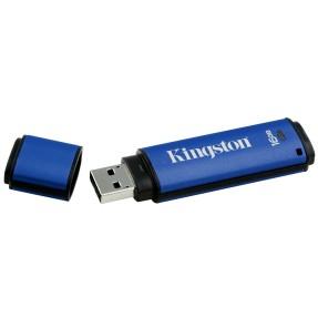 Pen Drive Kingston Data Traveler 16 GB USB 3.0 Vault Privacy 3.0