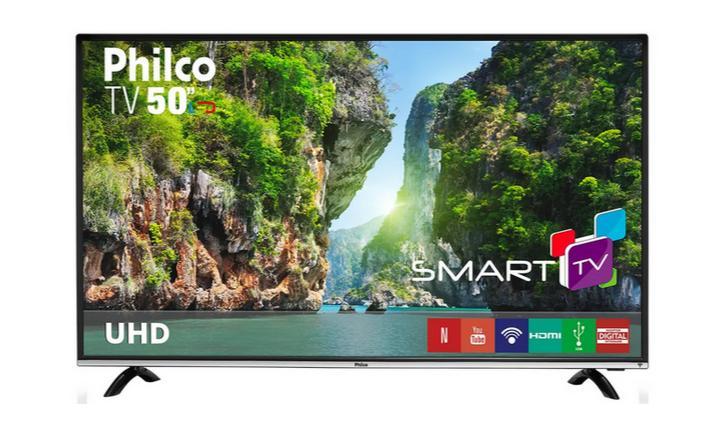 Philco PTV50F60SN é boa? Confira a análise e preço dessa smart TV 4K