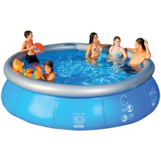 Piscina Inflável 12.000 l Redonda Mor Splash Fun 1057