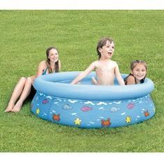 Piscina Inflável 520 l Redonda Mor Splash Fun Estampada 1799