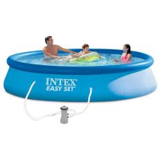 Piscina Inflável 7.290 l Redonda Intex Easy Set 28141 / 28142