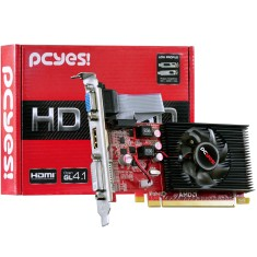 Foto Placa de Video ATI Radeon HD 6450 1 GB DDR3 64 Bits PCYes PS64506401D3LP