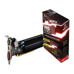 Foto Placa de Video ATI Radeon R5 230 1 GB DDR3 64 Bits XFX R5-230A-ZLH2