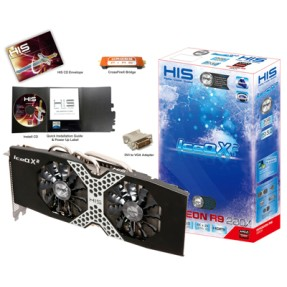 Foto Placa de Video ATI Radeon R9 280X 3 GB GDDR5 384 Bits HIS H280XQM3G2M