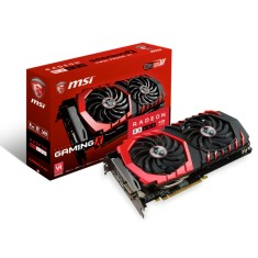 Foto Placa de Video ATI Radeon RX 480 4 GB GDDR5 256 Bits MSI RX 480 GAMING X 4G