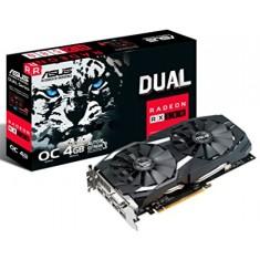 Placa de Video ATI Radeon RX 580 4 GB GDDR5 256 Bits Asus DUAL-RX580-O4G