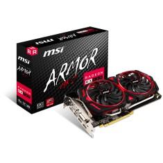 Placa de Video ATI Radeon RX 580 8 GB GDDR5 256 Bits MSI RX 580 ARMOR MK2 8G OC