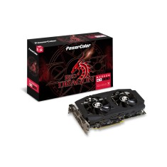 Placa de Video ATI Radeon RX 580 8 GB GDDR5 256 Bits PowerColor AXRX 580 8GBD5-3DHDV2/OC