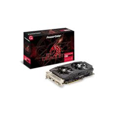 Placa de Video ATI Radeon RX 580 8 GB GDDR5 256 Bits PowerColor AXRX 580 8GBD5 DHDV2/OC