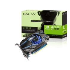 Foto Placa de Video NVIDIA GeForce GT 1030 2 GB GDDR5 64 Bits Galax 30NPH4HVQ4ST